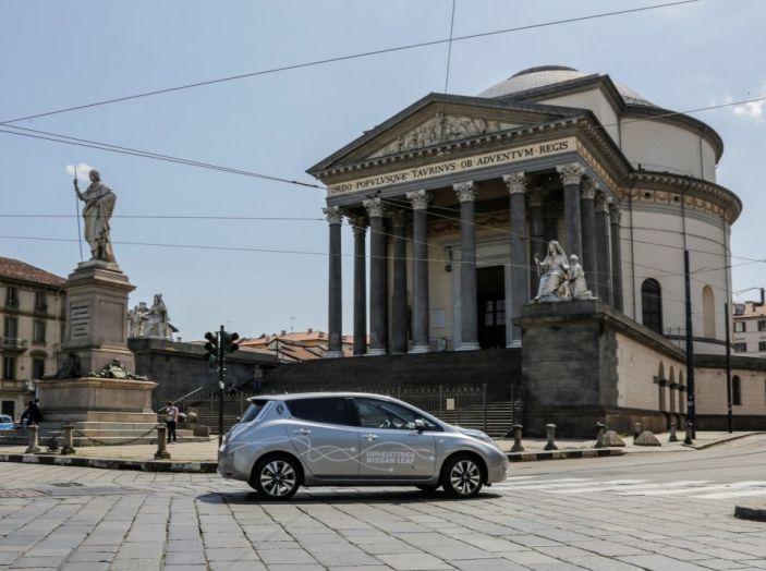 Espansione elettrica: una Nissan Leaf per il Sindaco di Torino - Foto 7 di 17