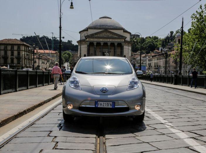 Espansione elettrica: una Nissan Leaf per il Sindaco di Torino - Foto 8 di 17