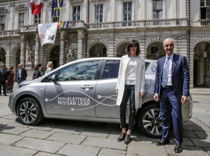Espansione elettrica: una Nissan Leaf per il Sindaco di Torino - Foto 2 di 17