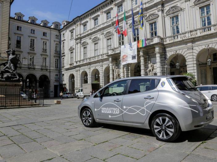 Espansione elettrica: una Nissan Leaf per il Sindaco di Torino - Foto 13 di 17