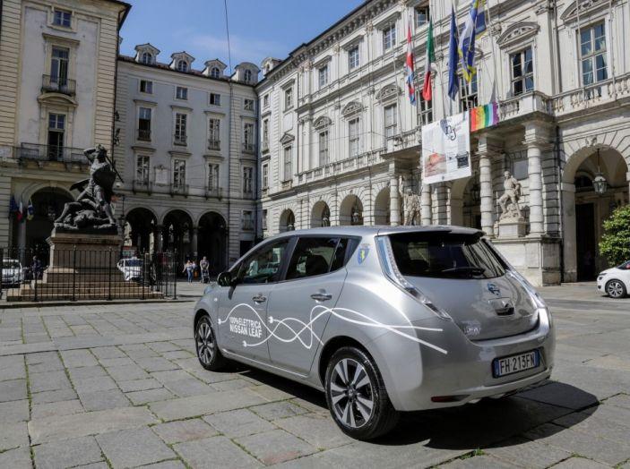 Espansione elettrica: una Nissan Leaf per il Sindaco di Torino - Foto 14 di 17