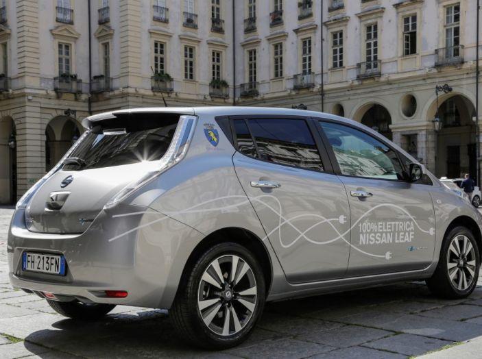Espansione elettrica: una Nissan Leaf per il Sindaco di Torino - Foto 15 di 17