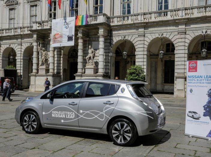 Espansione elettrica: una Nissan Leaf per il Sindaco di Torino - Foto 16 di 17