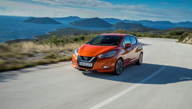 Nuova Nissan Micra, eccellente per comfort e sicurezza - Foto 8 di 28