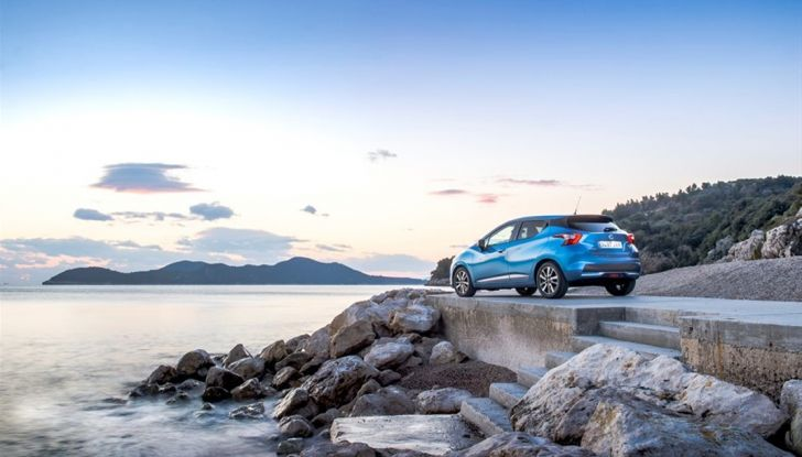 Nuova Nissan Micra, eccellente per comfort e sicurezza - Foto 19 di 28