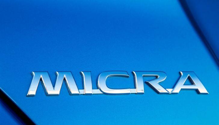 Nuova Nissan Micra, eccellente per comfort e sicurezza - Foto 28 di 28
