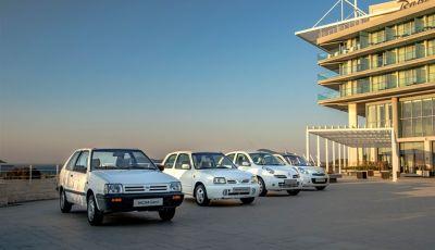 Nissan Micra, in viaggio da 35 anni: 5 generazioni a confronto