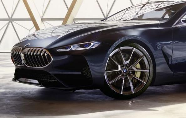 Nuova BMW Serie 8 Concept, immagini e dettagli - Foto 4 di 4