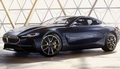 Nuova BMW Serie 8 Concept, immagini e dettagli