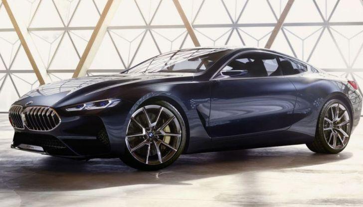 Nuova BMW Serie 8 Concept, immagini e dettagli - Foto 1 di 4