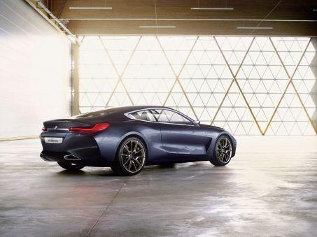 Nuova BMW Serie 8 Concept, immagini e dettagli - Foto 2 di 4