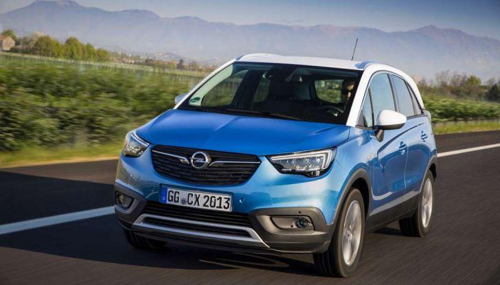 Opel Crossland X, test drive e allestimenti del crossover tedesco - Foto 5 di 38