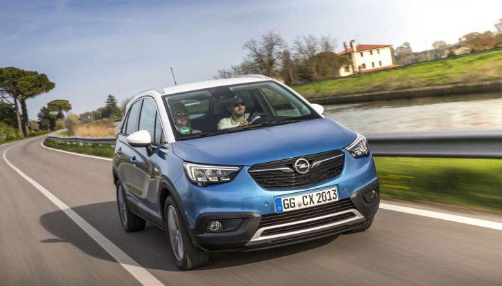 Opel Crossland X, test drive e allestimenti del crossover tedesco - Foto 7 di 38