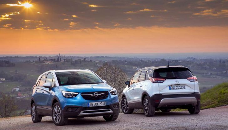 Opel Crossland X, test drive e allestimenti del crossover tedesco - Foto 27 di 38