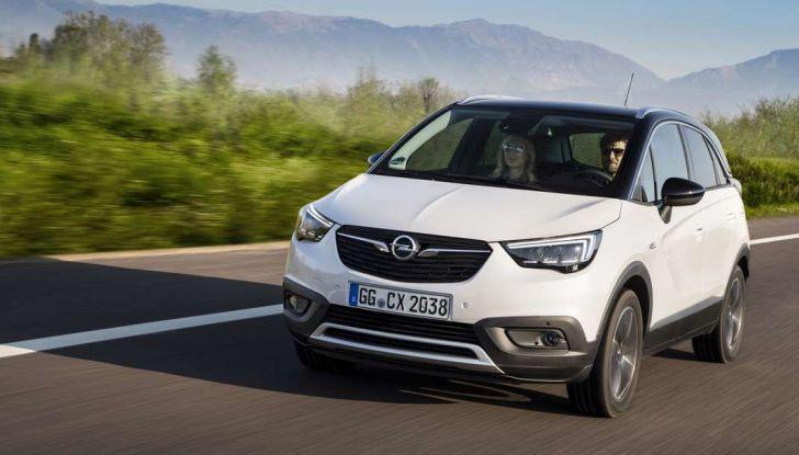 Opel Crossland X, test drive e allestimenti del crossover tedesco - Foto 29 di 38