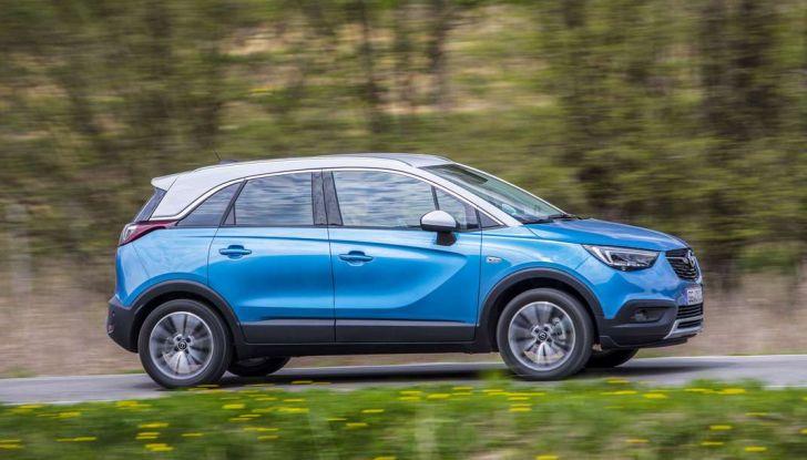 Opel Crossland X, test drive e allestimenti del crossover tedesco - Foto 8 di 38