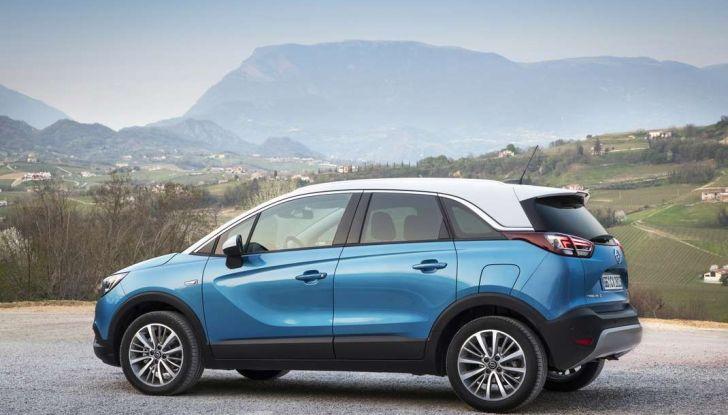 Opel Crossland X, test drive e allestimenti del crossover tedesco - Foto 12 di 38