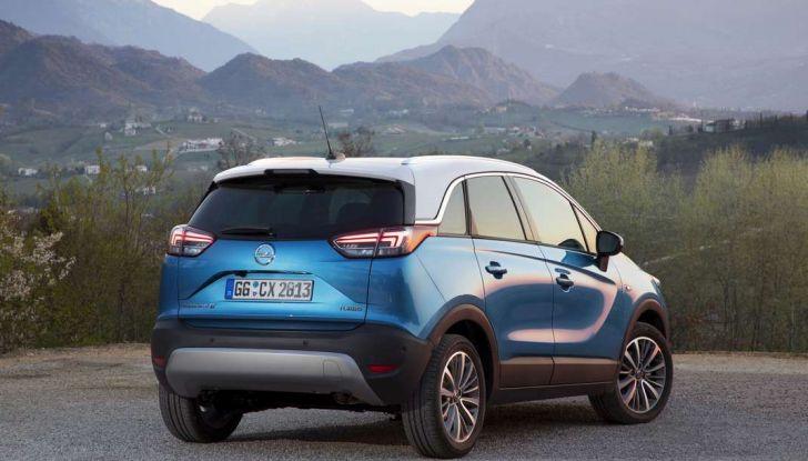 Opel Crossland X, test drive e allestimenti del crossover tedesco - Foto 15 di 38