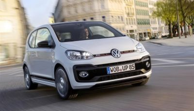 Volkswagen up! GTI: tre cilindri benzina da 115CV
