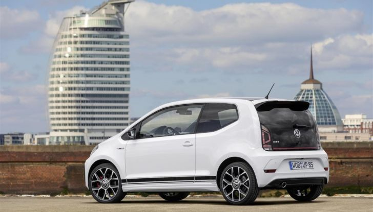Volkswagen up! GTI: tre cilindri benzina da 115CV - Foto 4 di 7