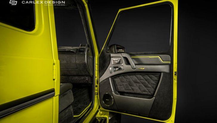 Brabus G500 4×4² con interni Carlex Design: un sogno proibito - Foto 17 di 21