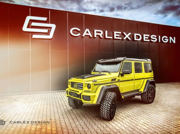 Brabus G500 4×4² con interni Carlex Design: un sogno proibito - Foto 4 di 21