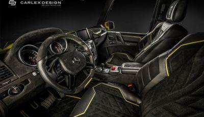 Brabus G500 4x4² con interni Carlex Design: un sogno proibito