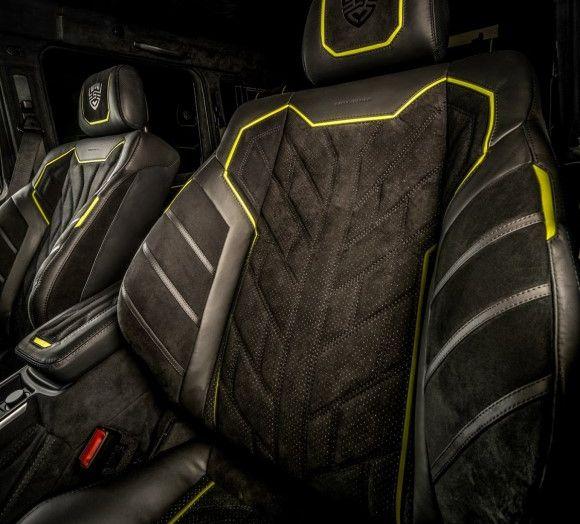 Brabus G500 4×4² con interni Carlex Design: un sogno proibito - Foto 21 di 21
