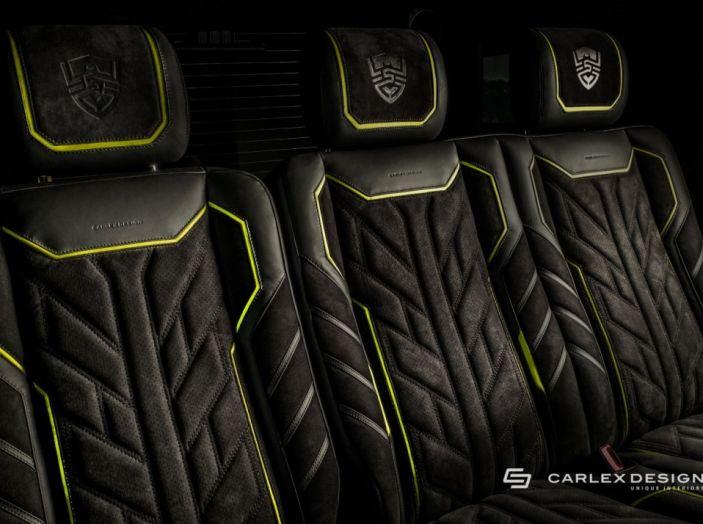 Brabus G500 4×4² con interni Carlex Design: un sogno proibito - Foto 5 di 21