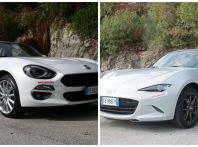 Fiat 124 Spider vs Mazda MX-5 a rate preferiamo la scoperta italiana