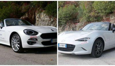 Fiat 124 Spider vs Mazda MX-5 a rate preferiamo la scoperta italiana