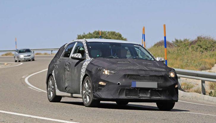 Kia cee'd, specifiche tecniche del modello 2018 - Foto 3 di 19