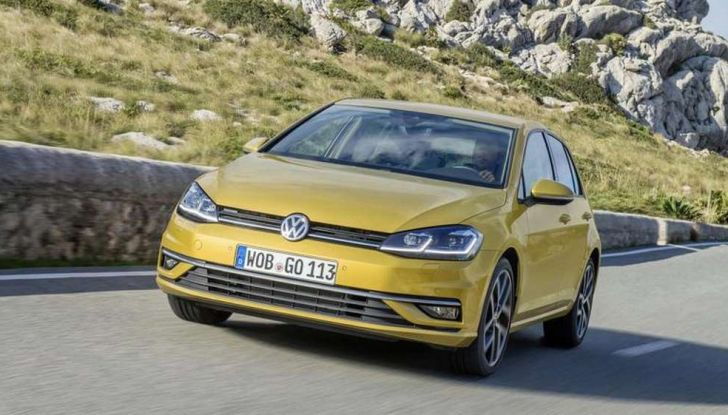 Volkswagen Golf 7 Yellow