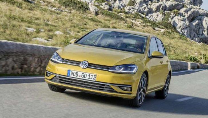 Volkswagen Golf 7 Yellow