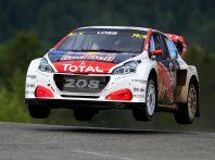 La 208 WRX di Loeb nuovamente sul podio nel Rallycross