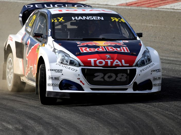 La 208 WRX di Loeb nuovamente sul podio nel Rallycross - Foto 3 di 3