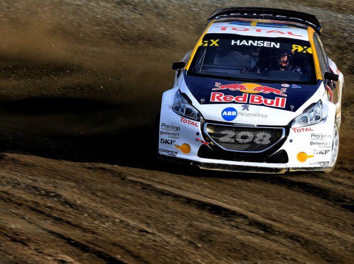 La 208 WRX di Loeb nuovamente sul podio nel Rallycross - Foto 2 di 3