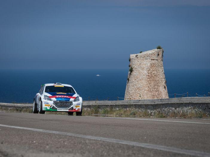 Dominio Peugeot al Rally del Salento - Foto 3 di 4