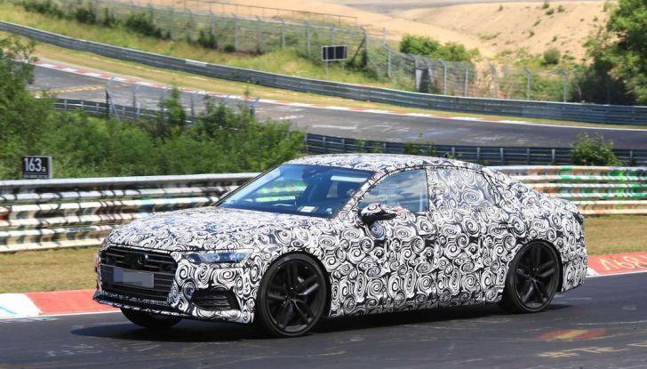 Audi A6 2018, la berlina sportiva dei Quattro Anelli - Foto 1 di 14