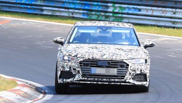 Audi A6 2018, la berlina sportiva dei Quattro Anelli - Foto 14 di 14