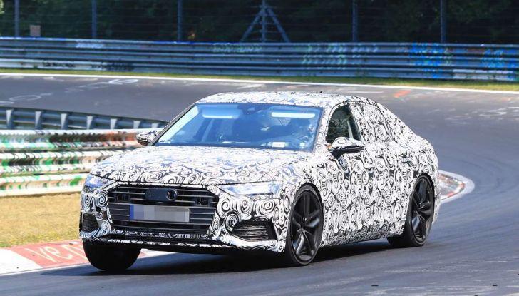 Audi A6 2018, la berlina sportiva dei Quattro Anelli - Foto 5 di 14