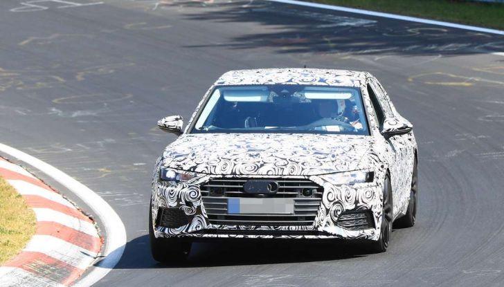 Audi A6 2018, la berlina sportiva dei Quattro Anelli - Foto 3 di 14