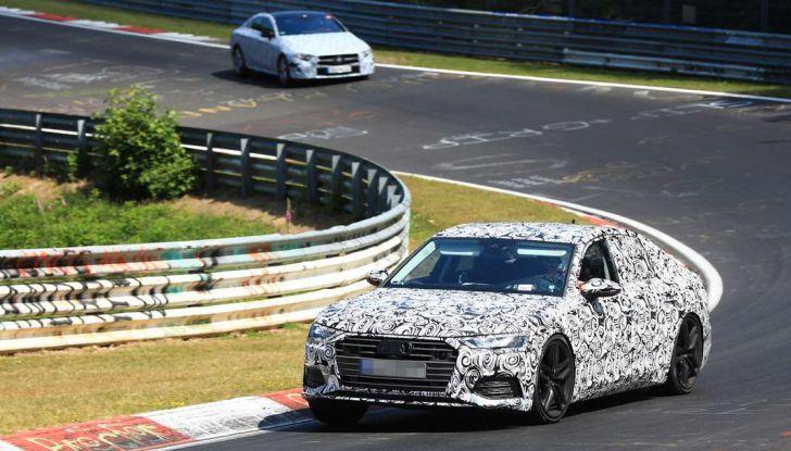 Audi A6 2018, la berlina sportiva dei Quattro Anelli - Foto 7 di 14
