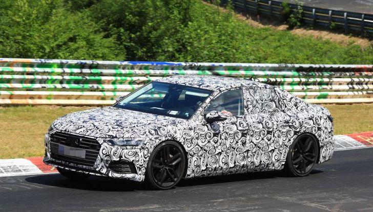 Audi A6 2018, la berlina sportiva dei Quattro Anelli - Foto 8 di 14