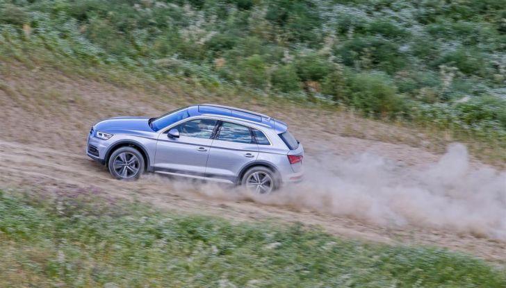 Audi Q: il nostro test dei SUV di Inglostadt in attesa di Q8, Q4 ed E-Tron - Foto 12 di 30