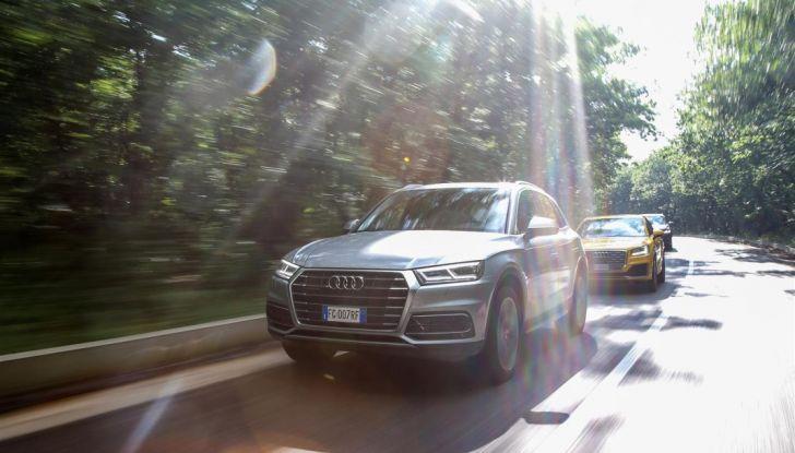 Audi Q: il nostro test dei SUV di Inglostadt in attesa di Q8, Q4 ed E-Tron - Foto 13 di 30