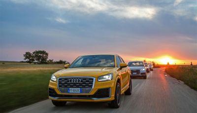 Audi Q: il nostro test dei SUV di Inglostadt in attesa di Q8, Q4 ed E-Tron