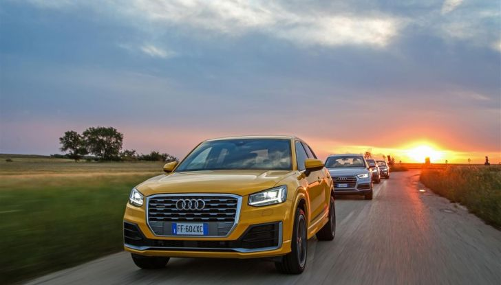 Audi Q: il nostro test dei SUV di Inglostadt in attesa di Q8, Q4 ed E-Tron - Foto 16 di 30