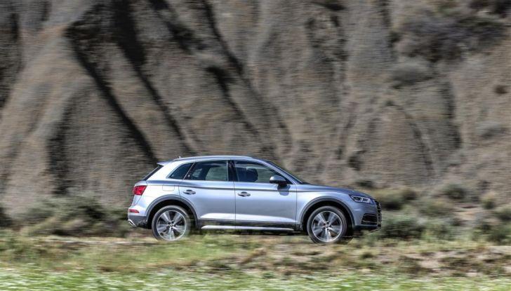 Audi Q: il nostro test dei SUV di Inglostadt in attesa di Q8, Q4 ed E-Tron - Foto 18 di 30