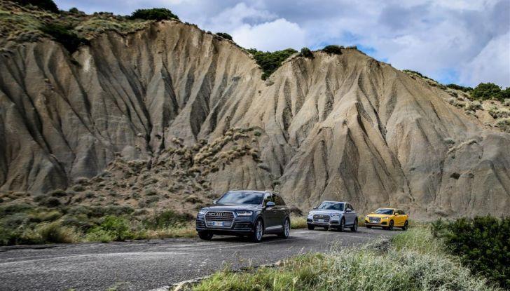 Audi Q: il nostro test dei SUV di Inglostadt in attesa di Q8, Q4 ed E-Tron - Foto 30 di 30